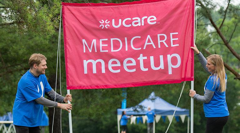 Medicare Meetup flag