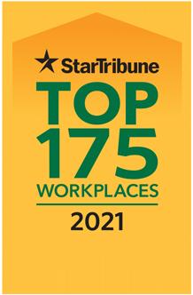 Star Tribune Top Workplaces 2021